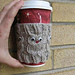 Owl Coffee Cup Cozie pattern