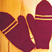 House Mittens pattern