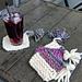 Scrappy Knit Coasters pattern