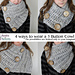 3 Button Chunky Cowl pattern