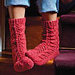 Kumara Bed Socks pattern