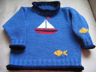 Ship Ahoy! sweater