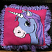 Cute Unicorn Cushion #1 pattern