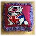 British Bulldog Cushion pattern