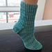 Half Rib Socks pattern