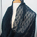 Copenhagen Reversible Mesh Lace Wrap and Scarf pattern