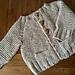 BABY Hiker's Cardigan pattern