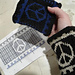 Peace Cuffs pattern