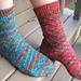 Torsion Socks pattern