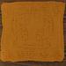 Yellow Bird Washcloth pattern