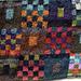 Gridlock Cushion pattern