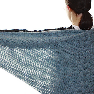 Ravelry: Shelter Triangle Shawl pattern by Kim Miller