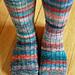Lichen Ribbed Sock pattern