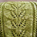 Column of Leaves Scarf pattern