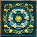 Elise Afghan Square pattern