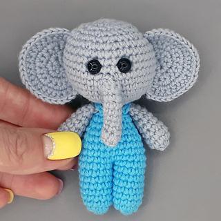Ravelry: Elena Elephant pattern by Heather C Gibbs | Keep Calm and ... | 320x320