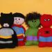 Chubbies Super Heroes (superheroes) pattern