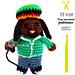 El Músico Rastafari pattern