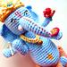Ganesha blue pattern