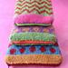 Knit It Felt It Zip It Bag pattern