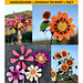 Sunflowers and Zinnias to Knit and Felt pattern