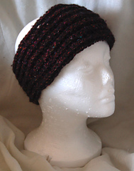crochet winter head wrap