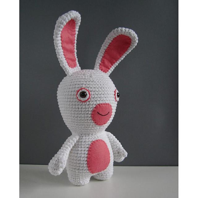 Amigurumi lapin tricot 3/3 / Miss Bunny amigurumi knit (english ... | 640x640