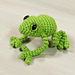 Crocheted Tree Frog pattern