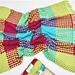 Granny Stripe Gingham Blanket pattern