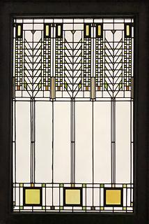 Frank Lloyd Wright, Tree of Life window from the Darwin D. Martin House, Buffalo, New York (1904)