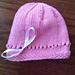 Madison Newborn Hat pattern