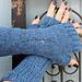 Dystopian Fingerless Gloves/Arm Warmers pattern
