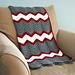 Vintage Chevron blanket pattern