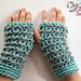 Crunchy Fingerless Gloves pattern