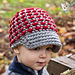 Chunky Crunchy Newsboy Hat pattern