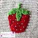 Strawberry Applique pattern