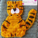Tiger Applique pattern