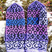 Alhambra Mittens pattern