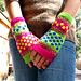 Popping Dots Mitts pattern
