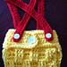 Newborn Basket Weave Diaper Cover pattern
