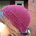 Scalloped Lace Hat pattern