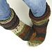 Cozy Feet Slipper Socks pattern