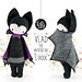 VLAD the vampire bat pattern