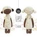 LUPO the lamb pattern