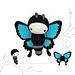Ulysses Blue Butterfly Amigurumi pattern
