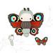 lalylala PEACOCK butterfly pattern