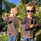 tricoté par ma testeuse Gaelle en fil Bohème de Fonty