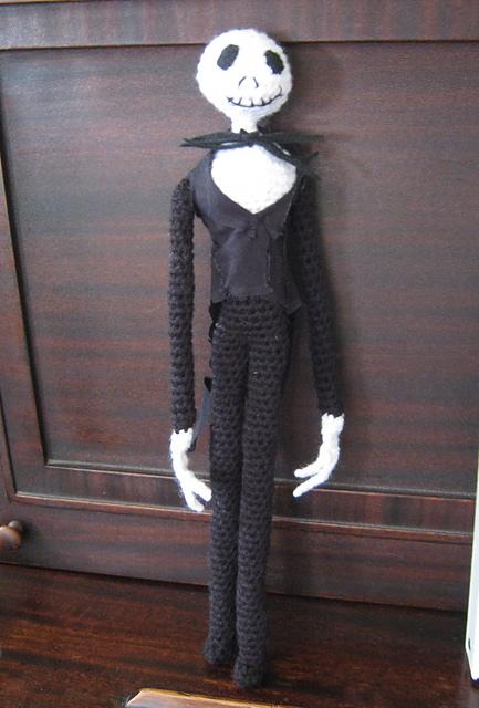 Jack Skellington Free Crochet Pattern • Spin a Yarn Crochet | 640x433
