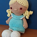 Weebee Special Edition Nelly Doll pattern