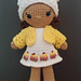 Weebee Nelly Doll - Sweet Things Outfit pattern